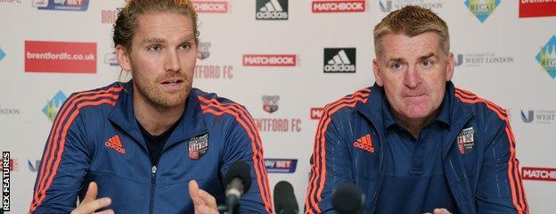 Rasmus Ankersen and Dean Smith