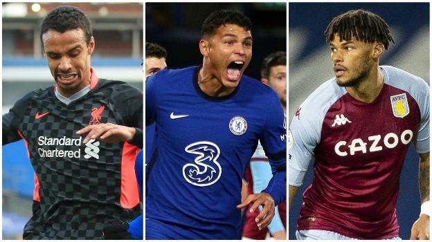 Joel Matip (Liverpool), Thiago Silva (Chelsea), Tyrone Mings (Aston Villa)