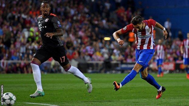 Yannick Carrasco scores for Atletico