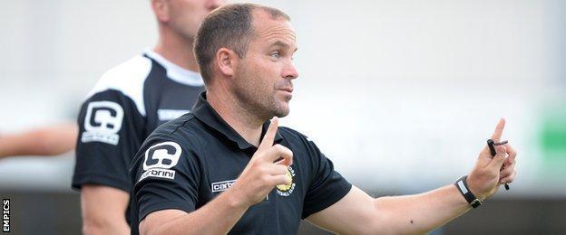 Crewe assistant boss James Collins