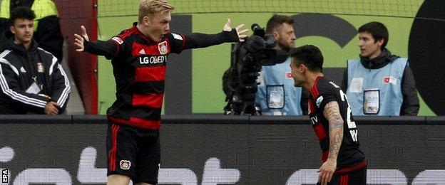 Julian Brandt of Bayer Leverkusen