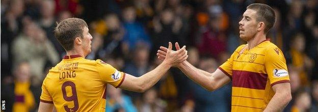Chris Long and Declan Gallagher proved to be sound signings for Motherwell