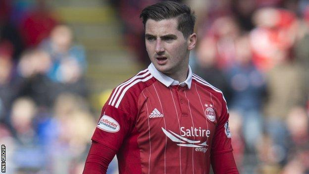 Aberdeen midfielder Kenny McLean