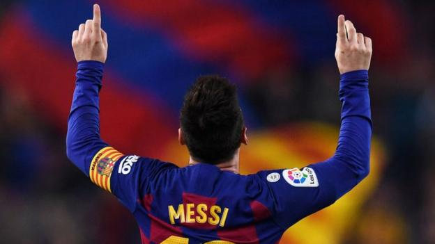 Barcelona 5-1 Real Valladolid: Lionel Messi scores twice as Barcelona return to the top thumbnail