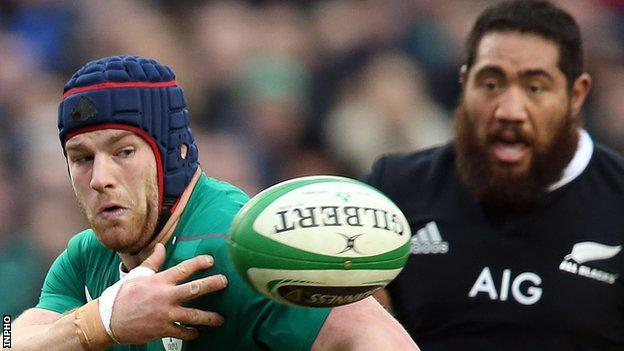 Ireland last played New Zealand in November 2013