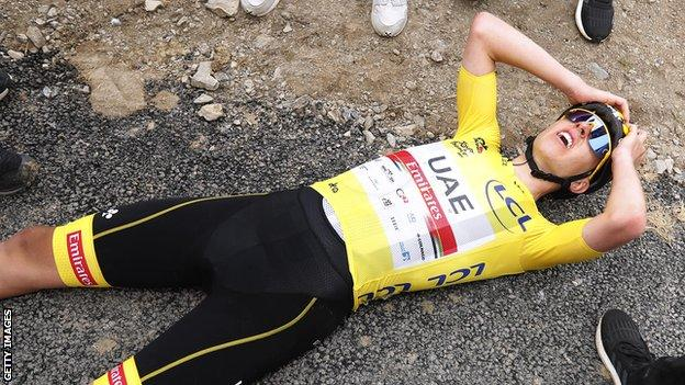 Tour de France 2021: Tadej Pogacar wins stage 17 to extend overall lead thumbnail