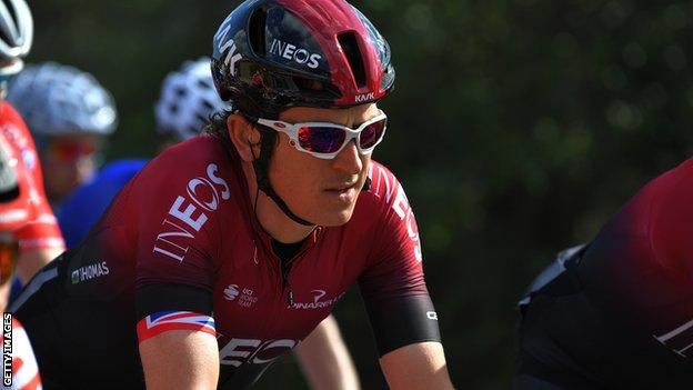 Geraint Thomas win the 2018 Tour de France