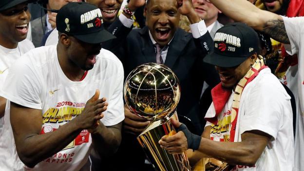 Drake, Beyonce & the Kawhi 'claw': How the Toronto Raptors won their first NBA Championship thumbnail
