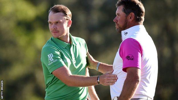 Danny Willett and Lee Westwood