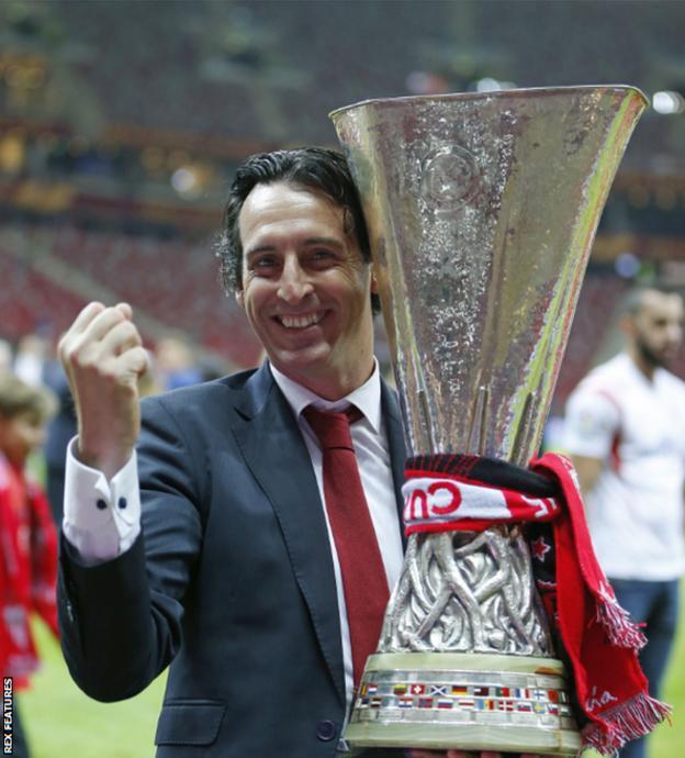 Sevilla boss Unai Emery
