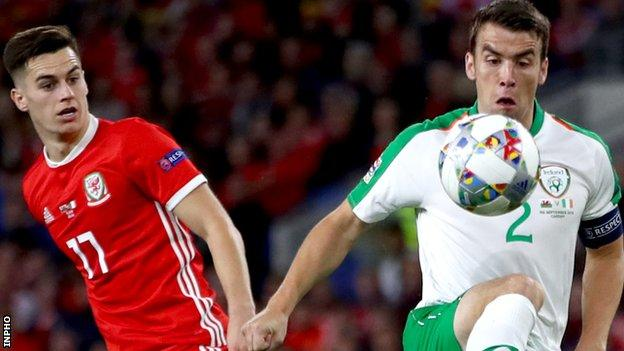 Coleman missed the Republic's double header in October, which included a defeat at home by Wales