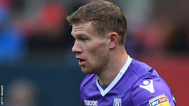 James McClean of Stoke City
