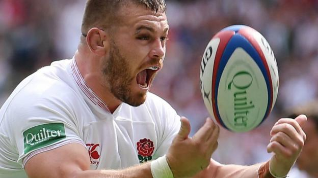 England beat Wales 33-19 in World Cup warm-up game thumbnail