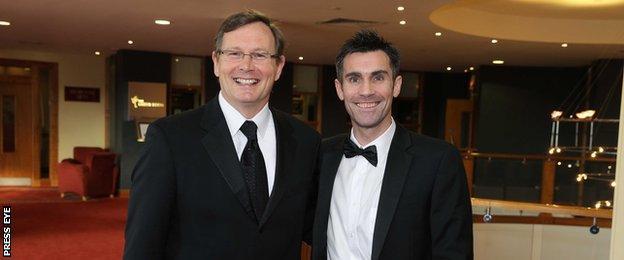 John O'Neill and Keith Gillespie