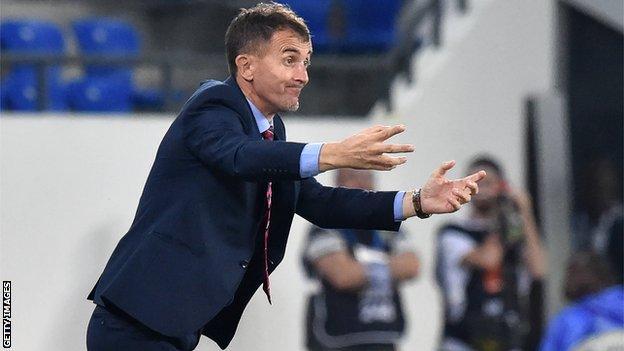 Serbian coach Milutin 'Micho' Sredojevic