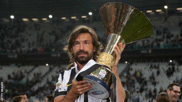 Juventus Appoint Andrea Pirlo To Replace Maurizio Sarri Bbc Sport