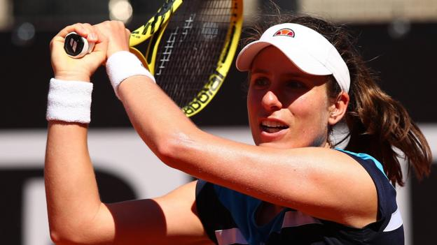 [Tvt News]Italian Open: Johanna Konta beats Sloane Stephens & faces Venus Williams in third round