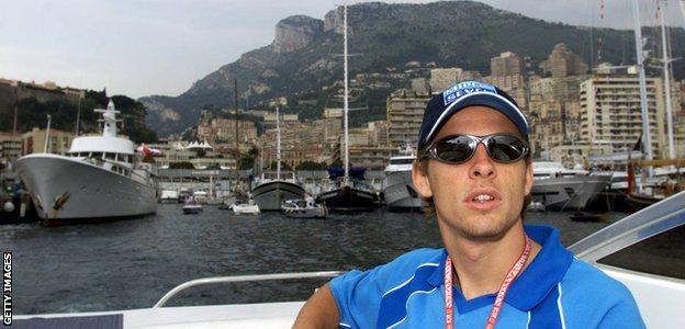 Jenson Button in 2001