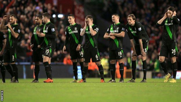 Stoke players