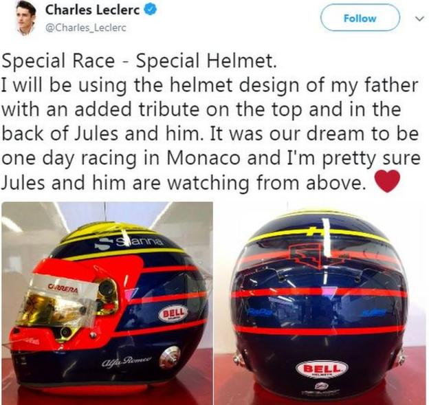 Charles Leclerc on Twitter