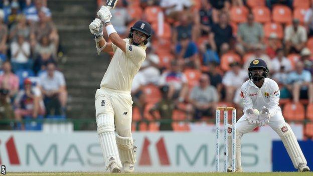 England all-rounder Sam Curran plays a shot against Sri Lanka