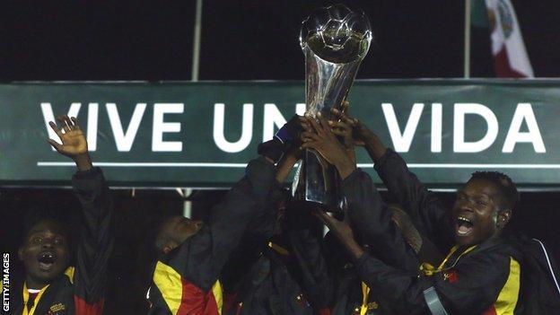 Angola Amputee team