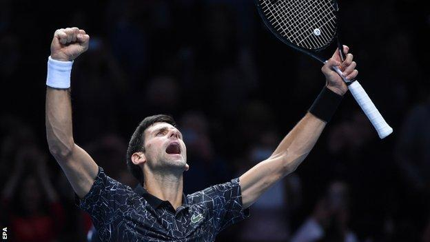 Novak Djokovic is chasing first ATP Finals title since 2015