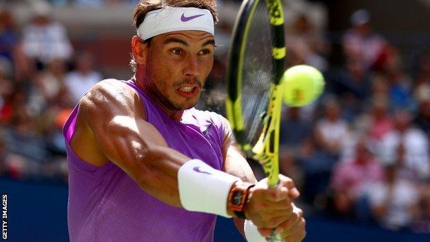 Us Open 2019 Rafael Nadal Through To Fourth Round Nick Kyrgios Out Bbc Sport