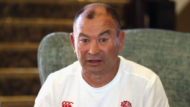 South Africa v England: Coach Eddie Jones has no concerns about position