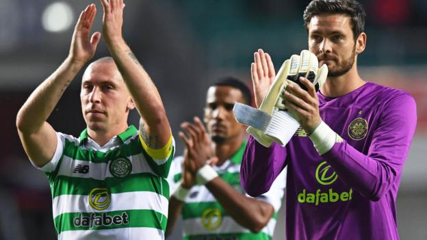 Nomme Kalju 0-2 Celtic (0-7): Scots ease through in Champions League