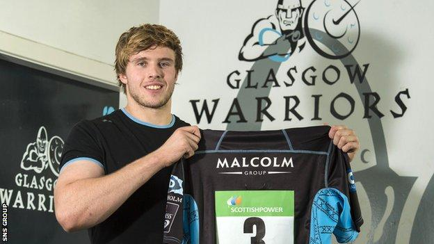 Jonny Gray signed a new contract this week