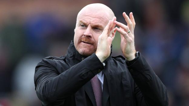 Burnley 3-0 Bournemouth: Sean Dyche unflappable as Clarets push for Europe - bbc