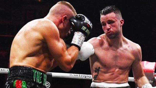 Josh Taylor reached the Super Series final - and became world champion - by beating Ivan Baranchyk in May