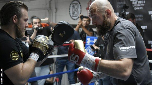 Fury has worked with trainer Ben Davison since returning to the sport