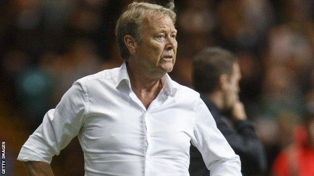 Malmo head coach Age Hareide