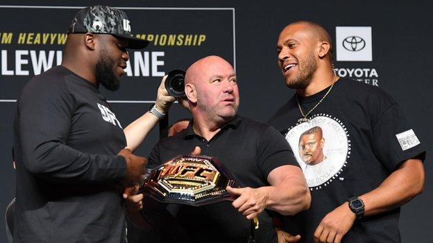 UFC 265: Derrick Lewis faces Ciryl Gane for interim heavyweight belt in  Houston - BBC Sport