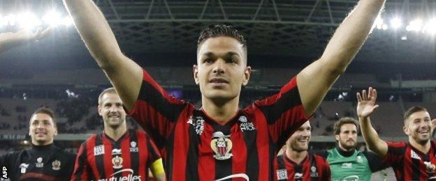 Hatem Ben Arfa appears to be enjoying his football again in France