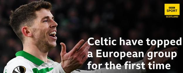 Celtic have broken a record in European competition