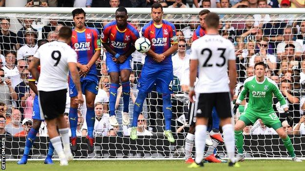 Wayne Hennessey in goal for Palace