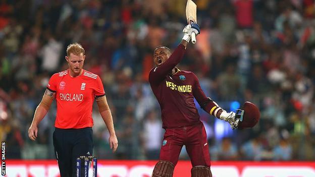 West Indies celebrates victory in 2016