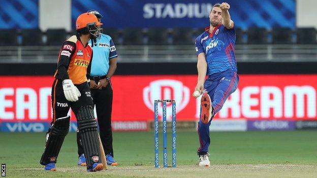 Delhi Capitals bowler Anrich Nortje