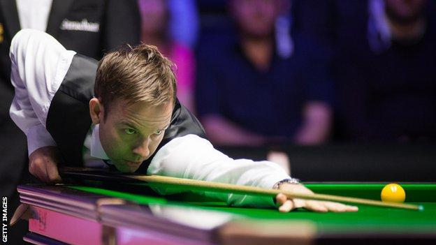 Ali Carter beat Mark Williams 4-3 at the Northern Ireland Open