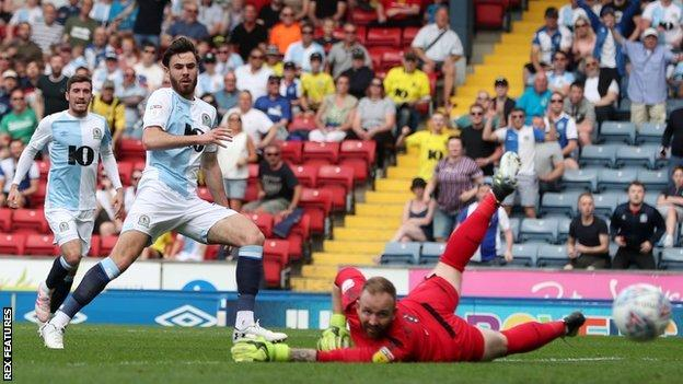 Ben Brereton had gone 26 games without a goal since joining Blackburn