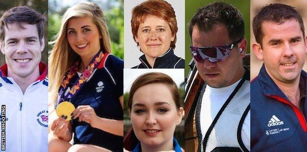 GB Team for Rio 2016
