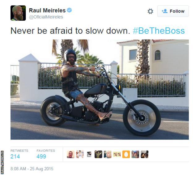 Raul Meireles on Twitter