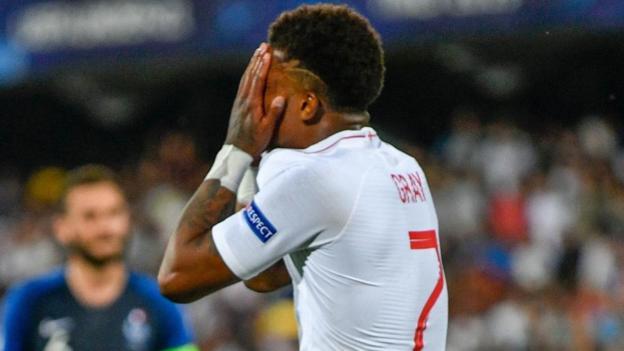 England U21 1-2 France U21: Aaron Wan-Bissaka own goal in injury time gives France victory