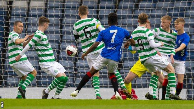Celtic and Rangers youth players