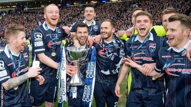 Ross County are the League Cup holders