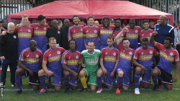 Clapton CFC team photo