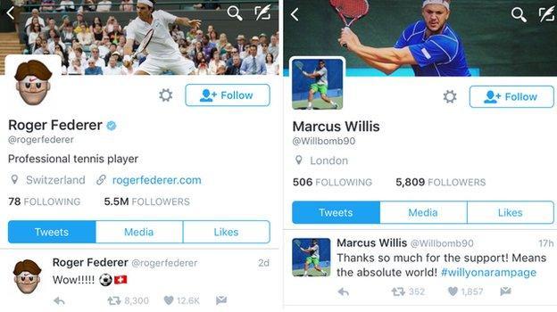 Federer v Willis